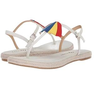 Katy Perry The Shay Espadrille Sandals Sz 6.5 New